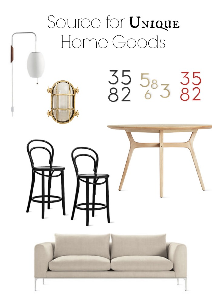 Sources for Unique Home Decor