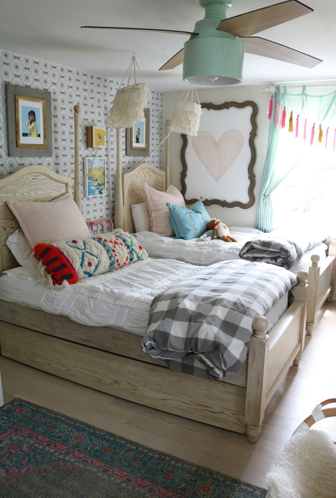 Small Space Living Series- Organizing Hacks in Our 1200 ... on Bedroom Ideas For Small Spaces  id=23622