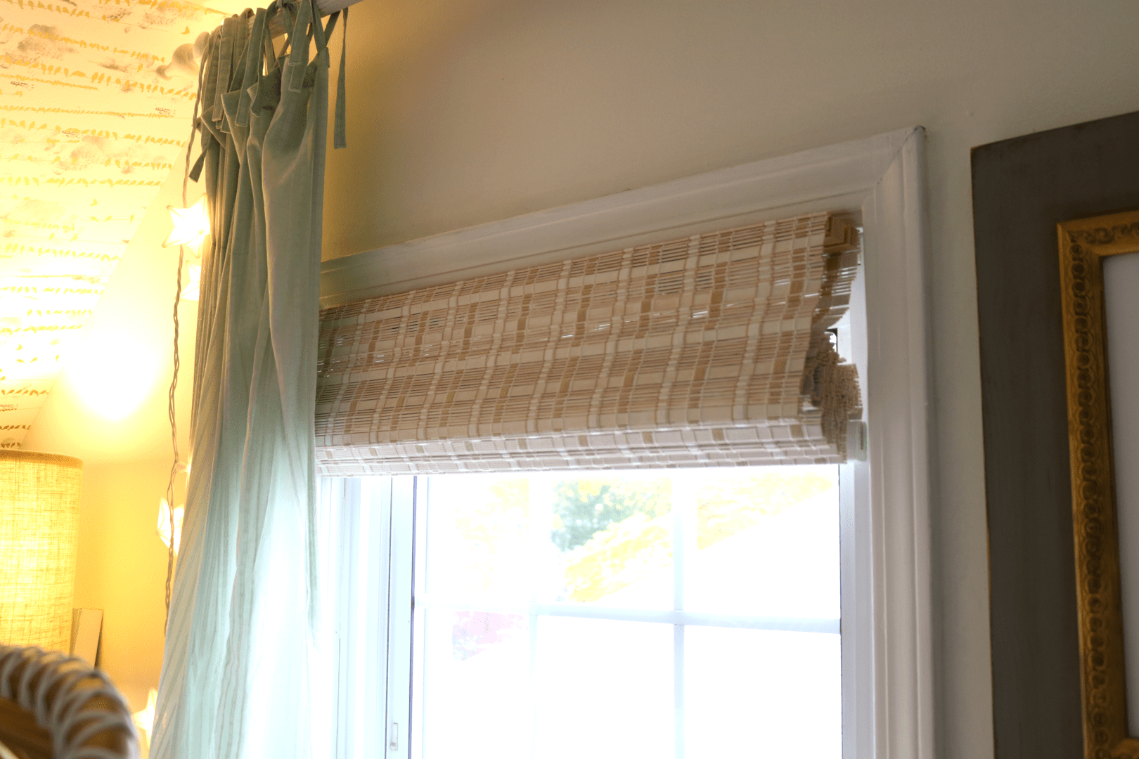 Affordable Bamboo Woven Shades And Fabric Roman Shades