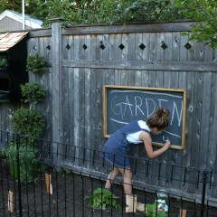 How to make a DIY Chalkboard- Outdoor or Indoor