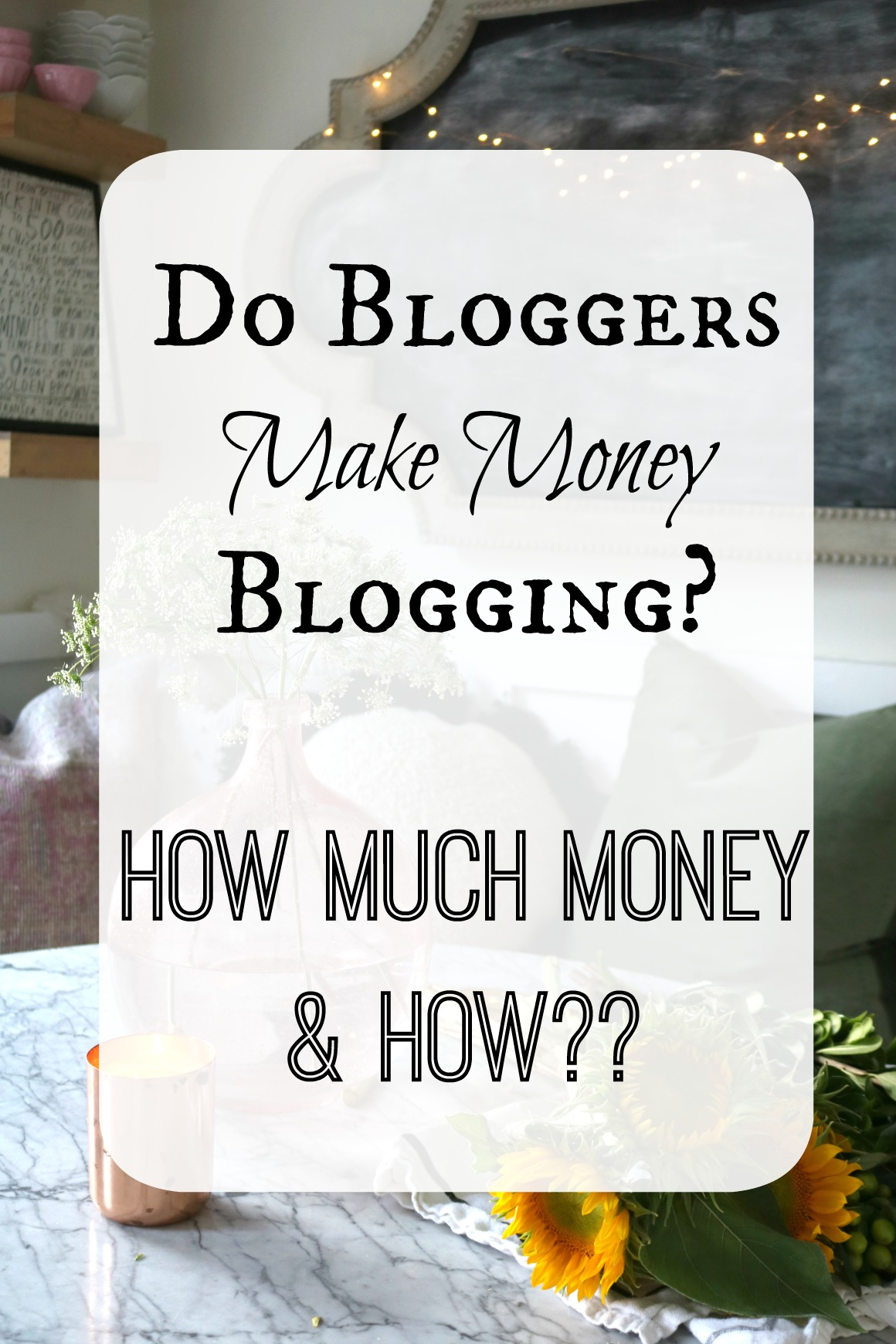 Blogging for Money- How Bloggers Make Money