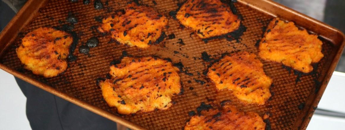 Smashed Sweet Potatoes- My Favorite Side Dish