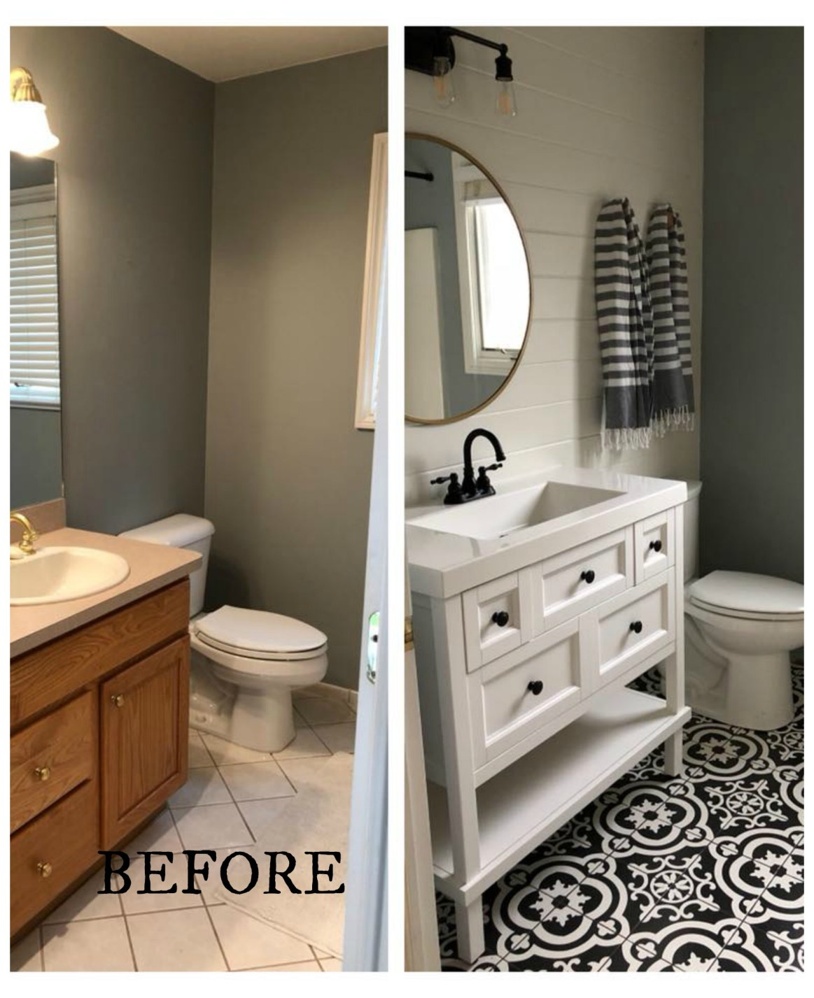 Images Bathrooms Makeovers: 20 Bathroom Makeovers- Before And Afters