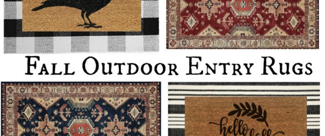 Friday Favorites Porches- Awning and Fall Doormats