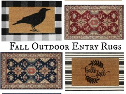 Fall Outdoor Entry Rugs