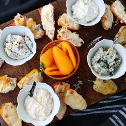 Appetizer- Four Different ways- Sweet Stuffed Peppers