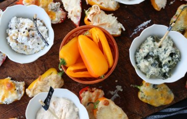 Sweet Stuffed Peppers- Four Different Ways