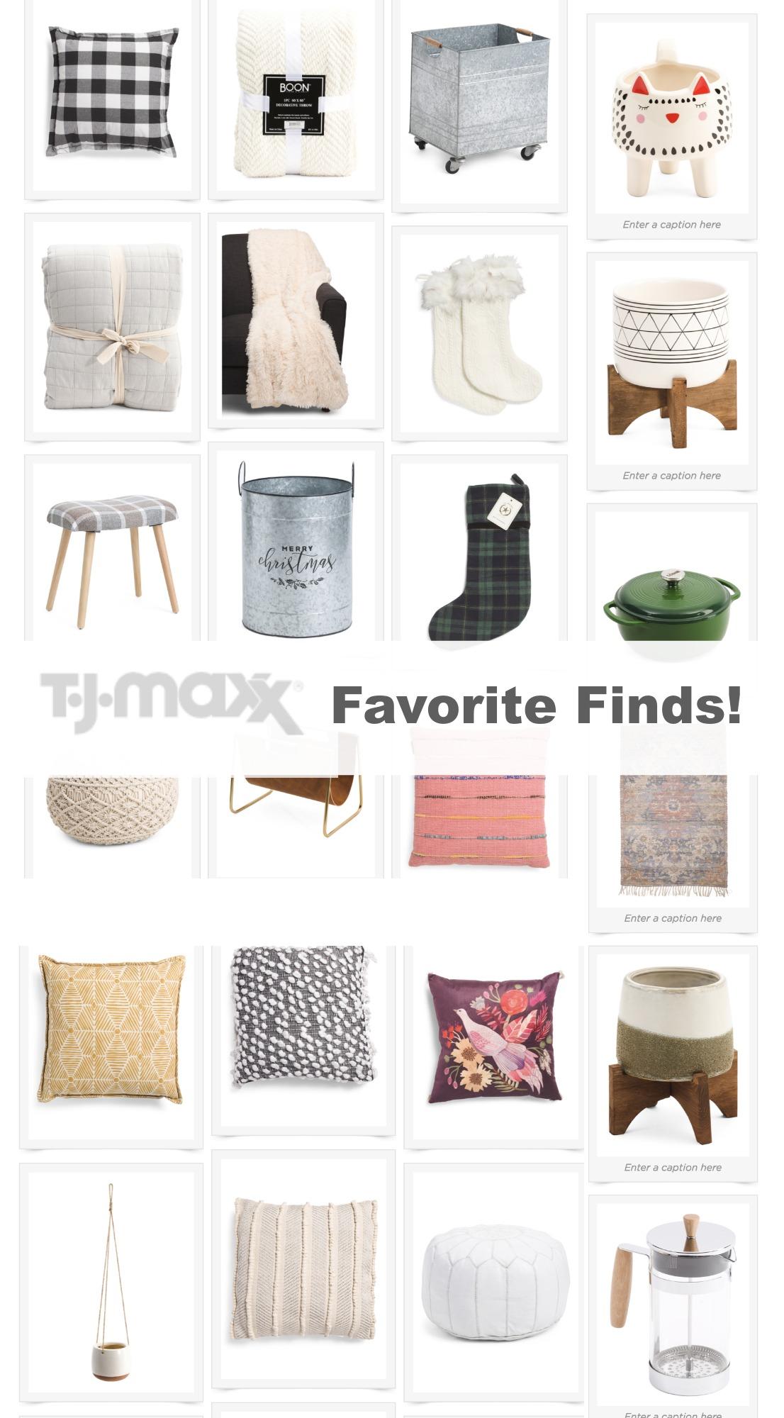 Tj maxx favorite finds online
