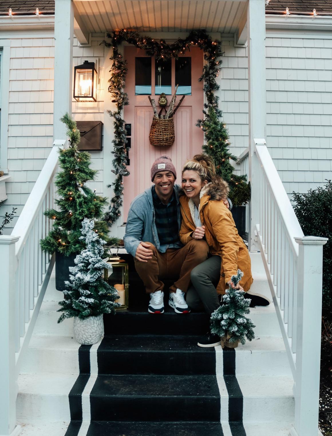Christmas Front Porch Christmas Decor Outside Christmas Lights