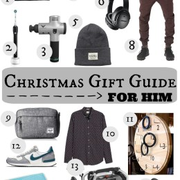 Christmas Gift Guide for Him!