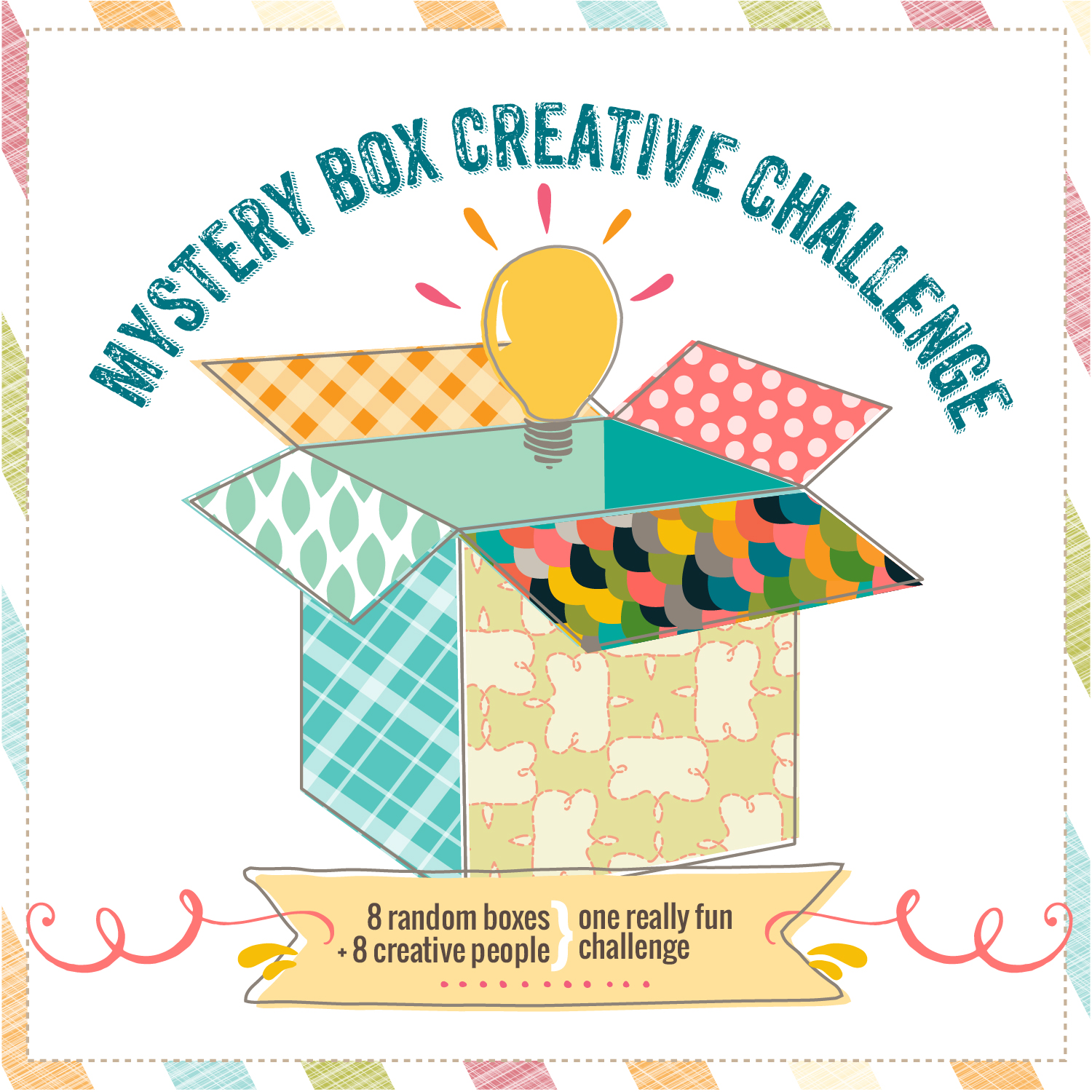 Mystery Box Creative Challenge- DIY Hanging Plant Holder
