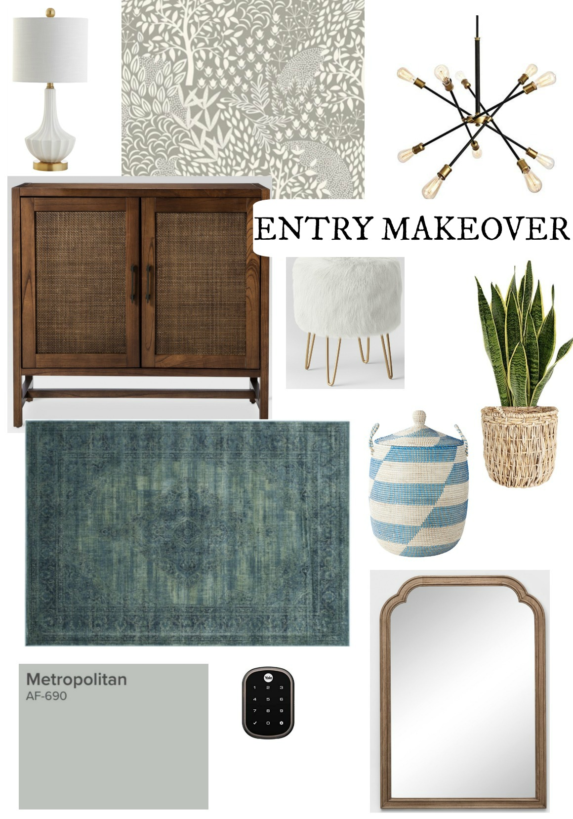 Entry Makeover- Color of the Year