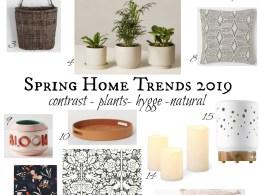 Spring Home Decor Trends 2019