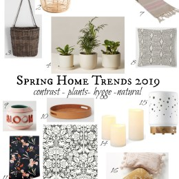 Spring Home Decor Trends 2019