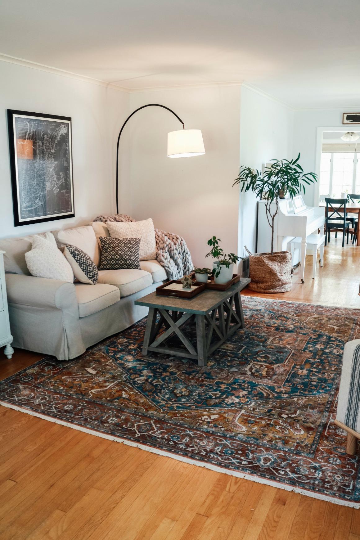 Living Room Transformation