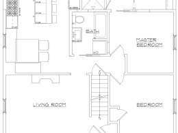 1100 sq foot- Floor Plan Addition