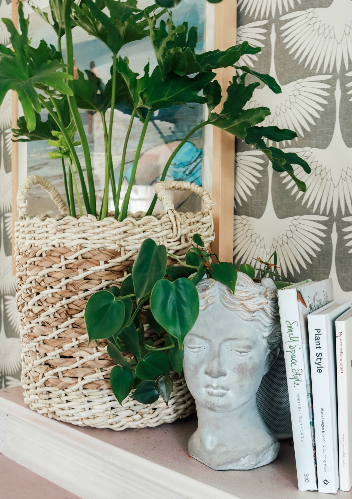 Houseplant Swag - Nesting With Grace