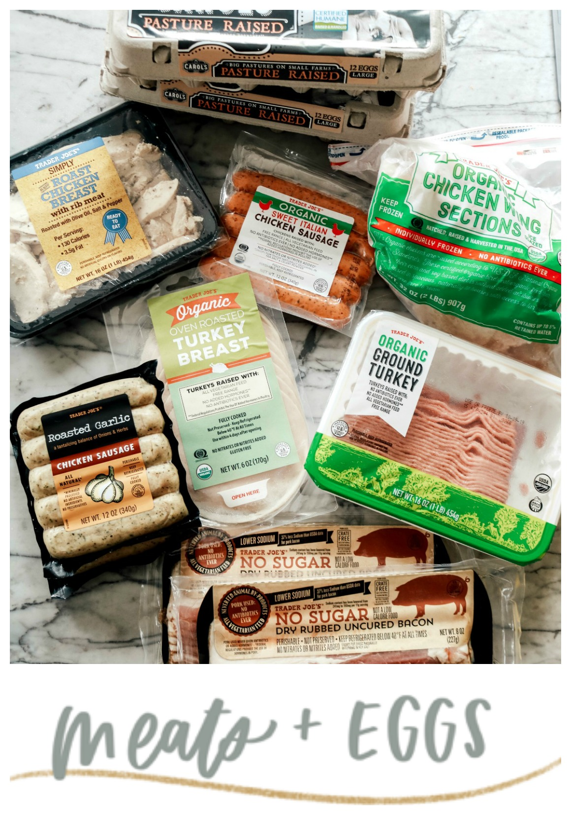 Paleo favorites from Trader Joe's
