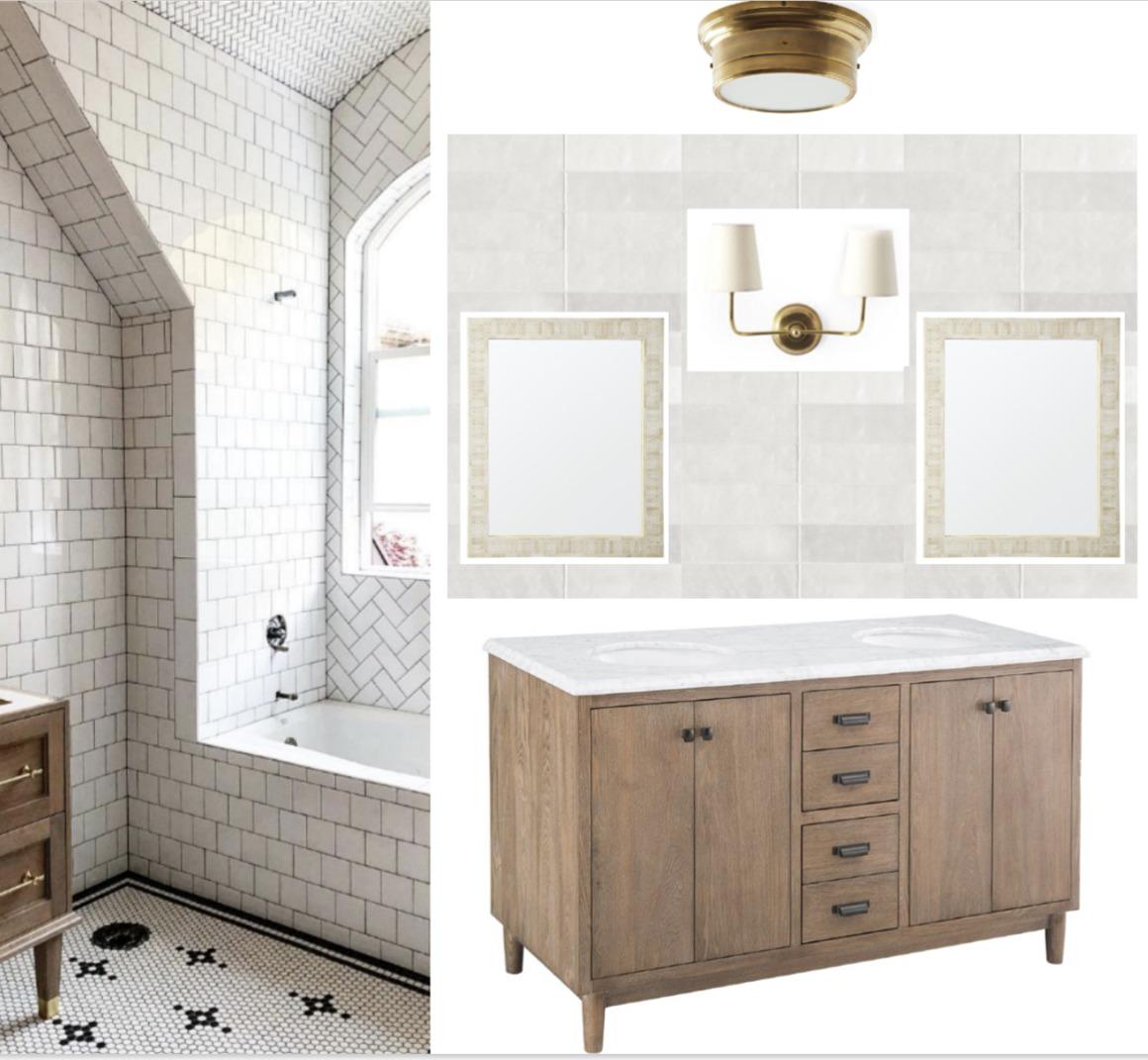 Bathroom Remodel- Favorite Affordable Vanities and Plan