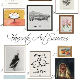 3 Top Tips for Getting Wall Art Right & Favorites Art Sources