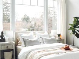 White Boho Bedroom Refresh