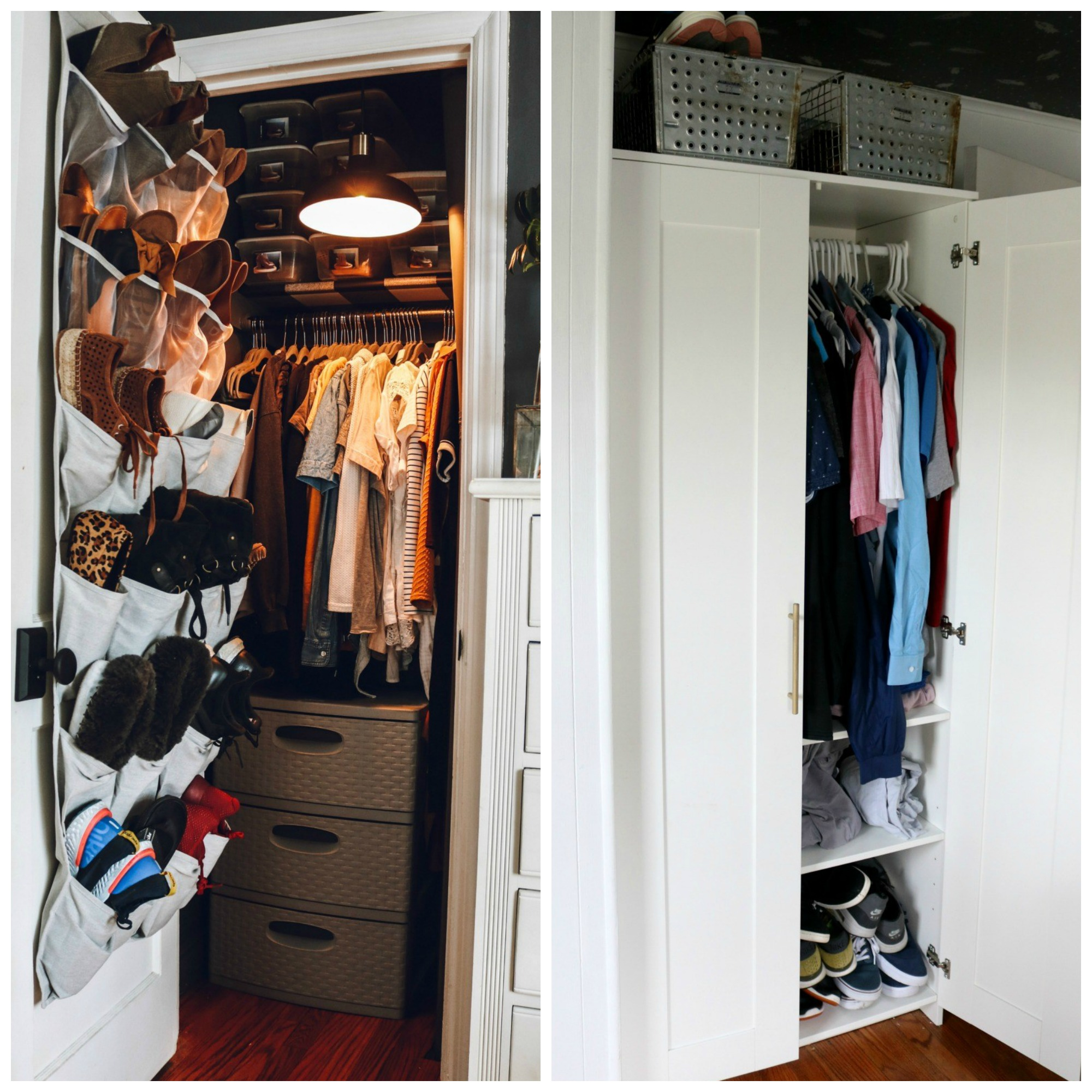 Our new Master Closet- IKEA PAX System