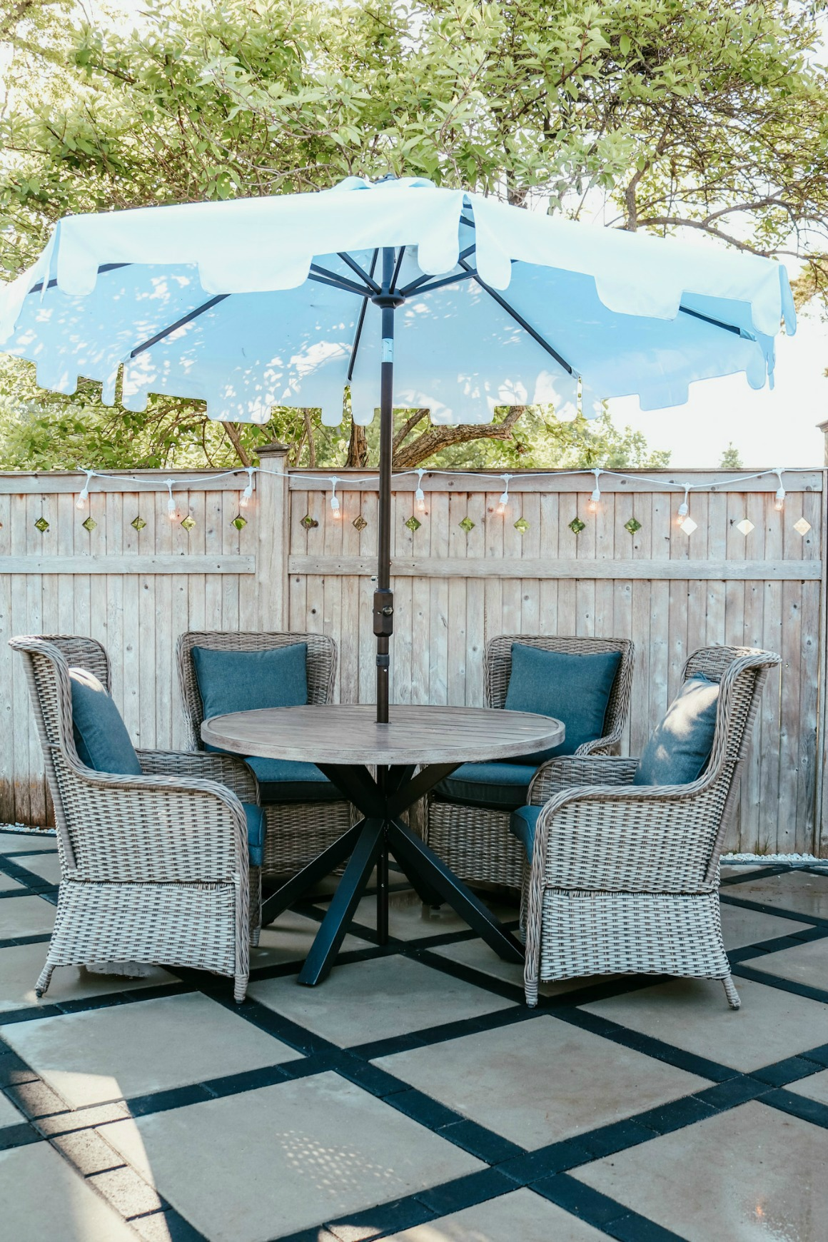 Patio Table Styled 3 Ways Nesting With Grace