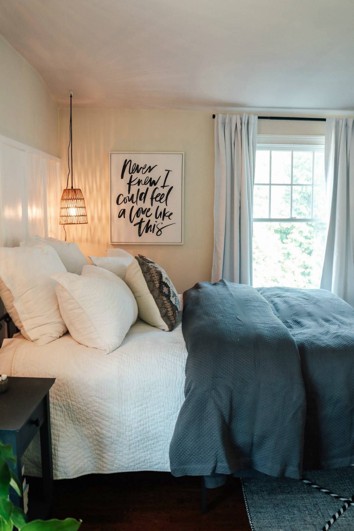 Simple and Affordable Master Bedroom Makeover - Nesting With Grace
