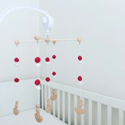 Mr O'Bear | Nautical Baby Mobile | www.nestlingcollective.com