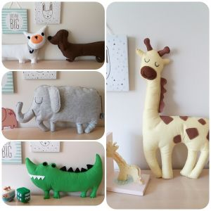 Amee's Atelier   Handcrafted felt plushies, cushions and educational toys for your child   www.nestlingcollective.com