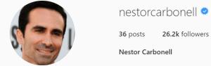 Official Néstor Carbonell Instagram