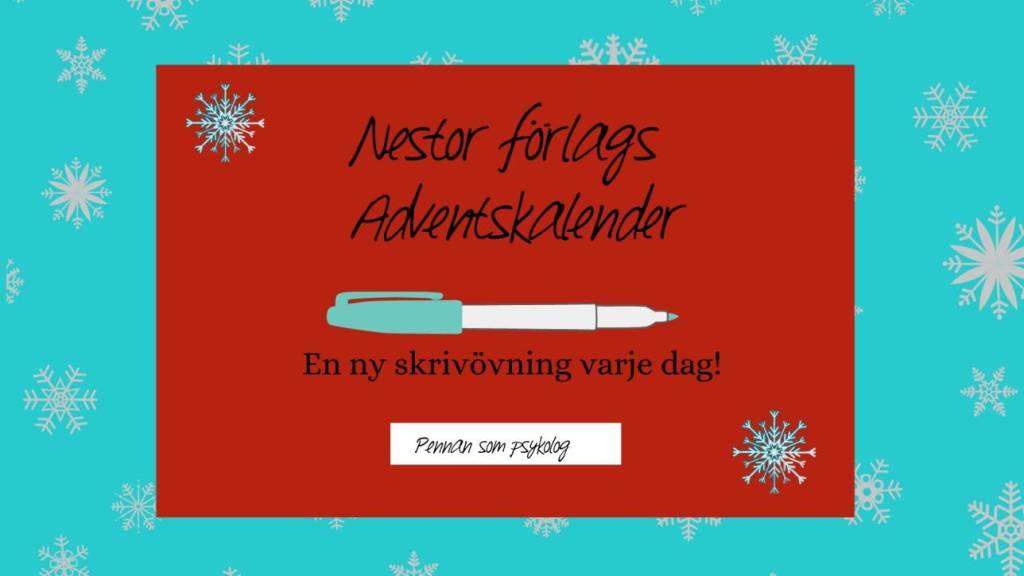 Nestor förlags adventskalender