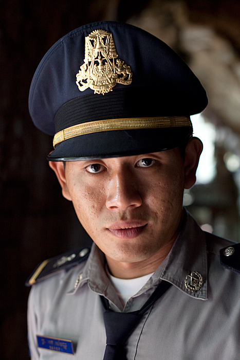 Cambodian officer