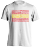 spanish-english language t-shirt