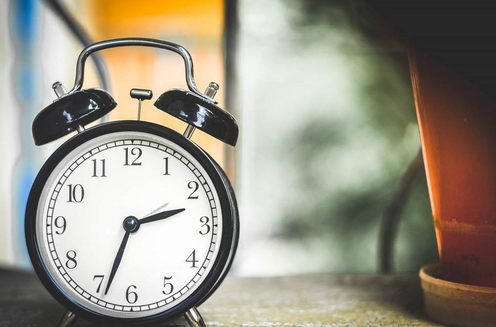 Todo en la vida lleva su tiempo