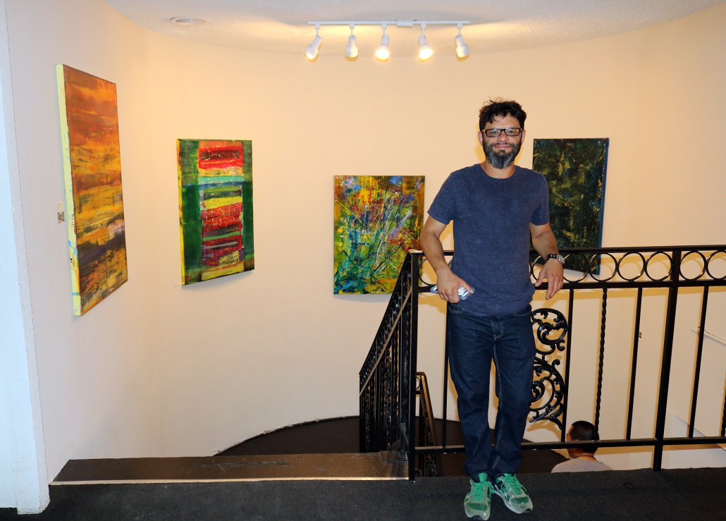 Nestor Toro Solo Abstract show - West Hollywood