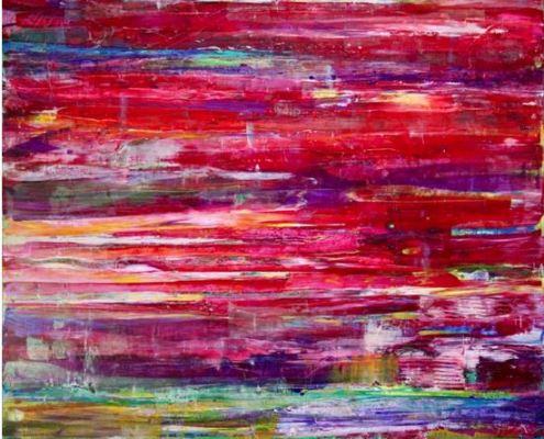 Nestor Toro - Sold work - abstract painting