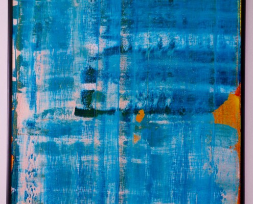 SOLD - A Pale Shade of Blue by Nestor Toro