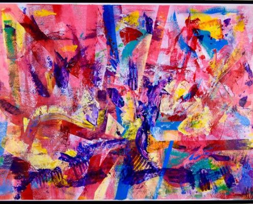 Ribbons by painter Nestor Toro has been sold