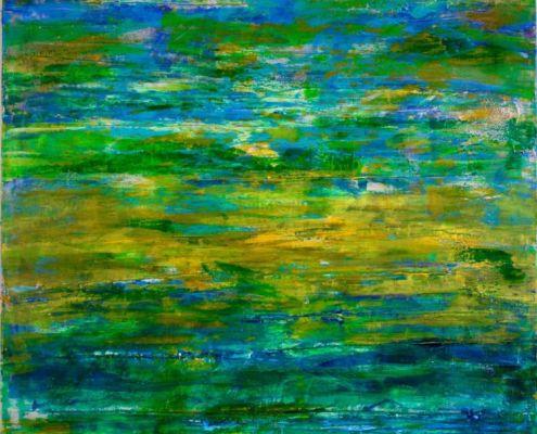 Summer Farewell, 2015 Acrylic painting by Nestor Toro