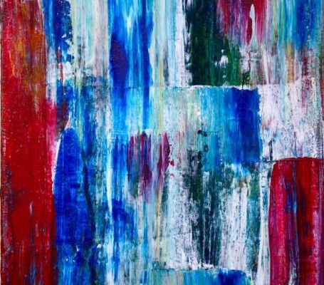 """SOLD artwork by painter Nestor Toro Titled """"Blankets ll"""""""