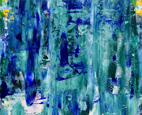 "Sold painting ""forest-rainfall"" by artist Nestor Toro"