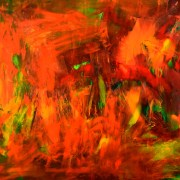 Sold artwork by abstract artist Nestor Toro based in Los Angeles