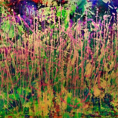 Golden Spectra (Forest chaos) by Nestor Toro