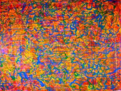 One of many shapes (Orange Pop!) artist Nestor Toro