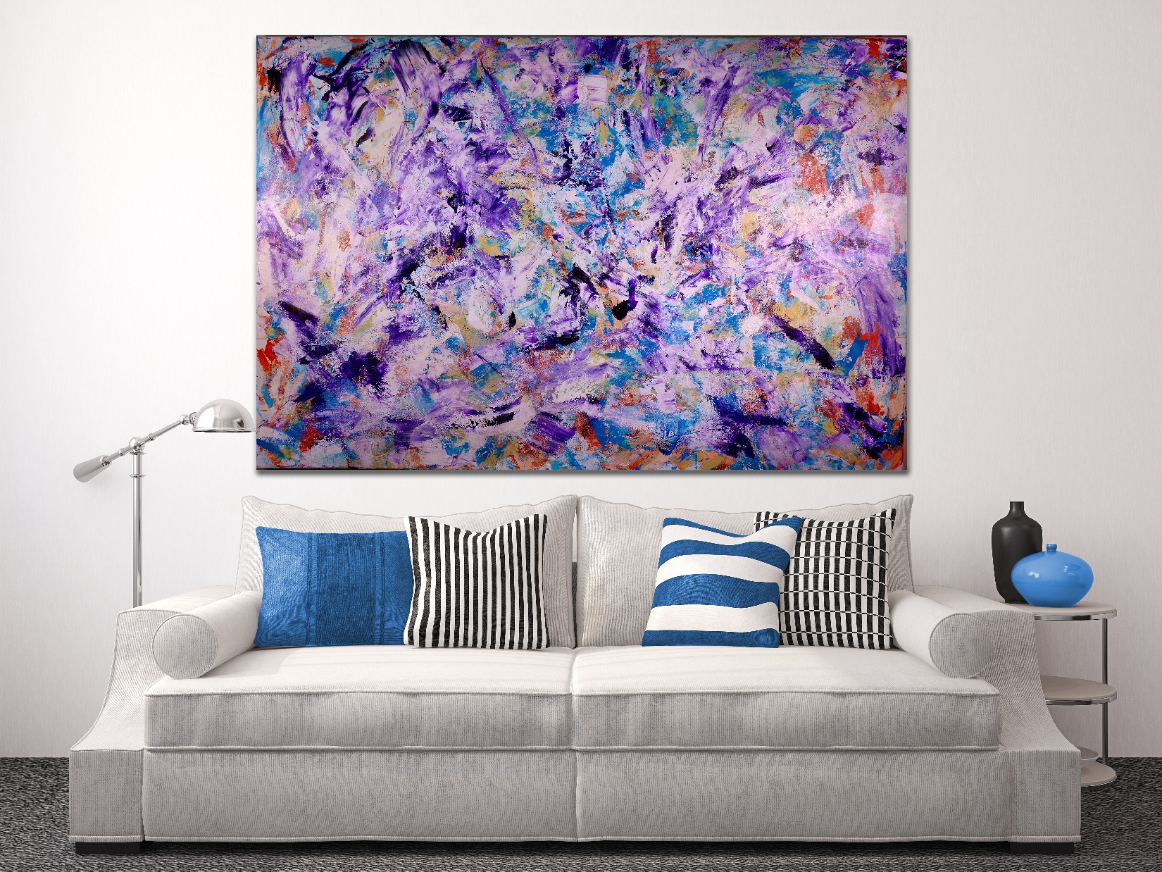 Iridescent Purple (Echoes) - SOLD