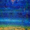 Vibrant Ombre Colorfield by Nestor Toro / SOLD