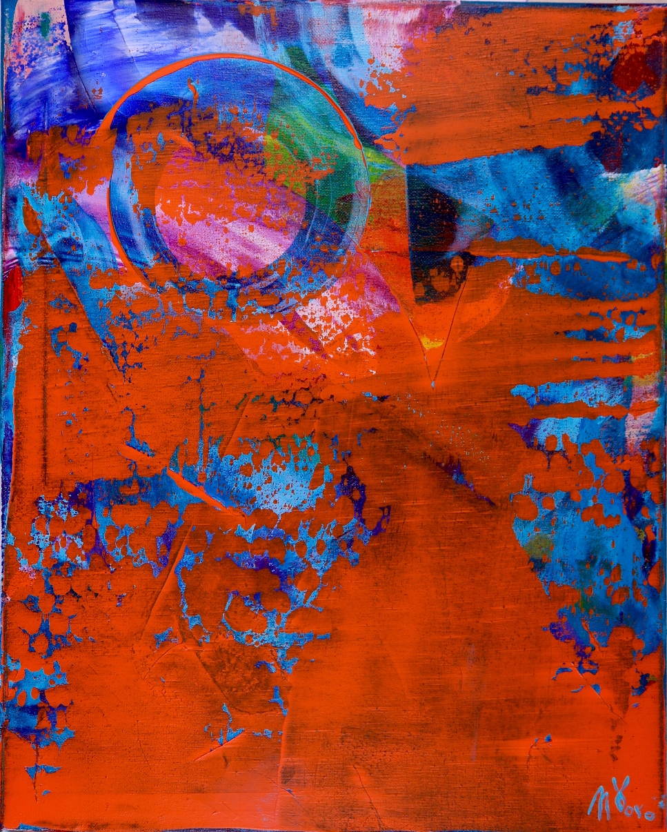 The Playground by abstract artist Nestor Toro