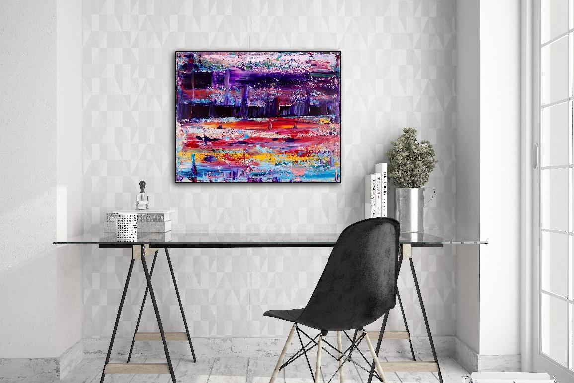 Dreams Landscape (Lakes) - artist- Nestor Toro