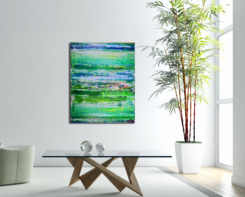 Abstract Painting - After the afternoon rain (2017)